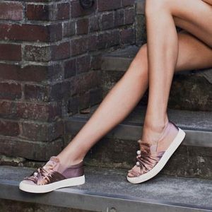 Cooper Coper Satin Pearl Espadrille Sneaker